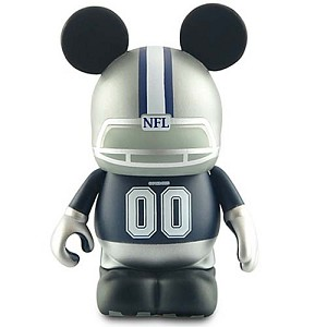 Disney vinylmation Figure - NFL - Dallas Cowboys