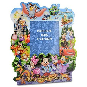 Disney Picture Frame - Storybook Walt Disney World  - 4 x 6