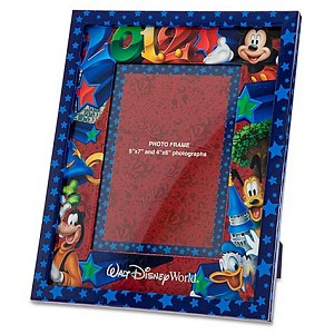 Disney Picture Frame - 2012 - 4 x 6 or 5 x 7 Mickey and Pals Logo