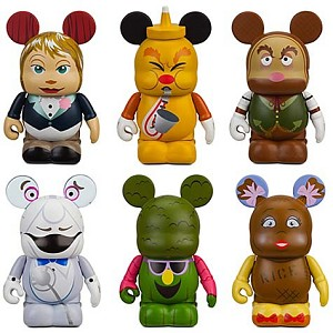 Disney vinylmation Set - Park 7 - Kitchen Kabaret - 6-Pc.