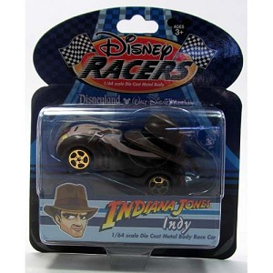Disney Racers - Die Cast Car - Indiana Jones - Indy