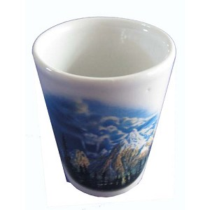 Disney World Shot Glass - Expedition Everest