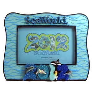 SeaWorld Picture Frame - 2012 Sea World Sea Life Logo