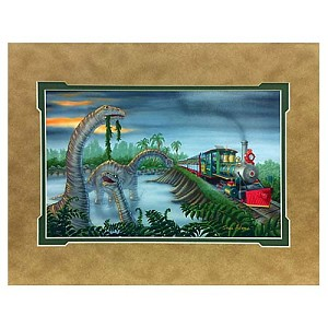 Disney Artist Print - Steve Adams - Primeval World