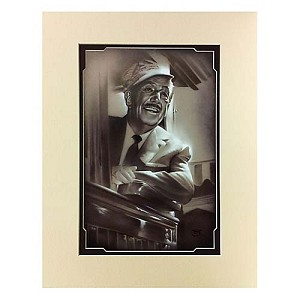 Disney Artist Print - Noah - Walt in Train
