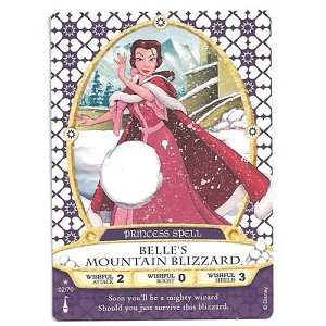 Disney Sorcerers of Magic Kingdom Cards - Belle