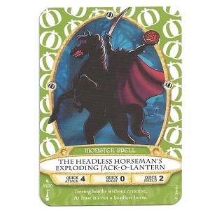 Disney Sorcerers of Magic Kingdom Cards - The Headless Horseman