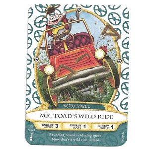 Disney Sorcerers of Magic Kingdom Cards - Mr. Toad