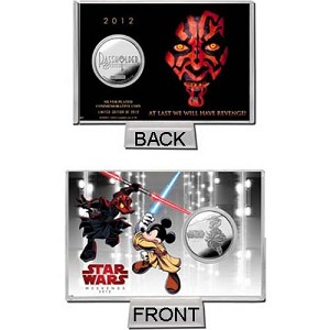 Disney Collector Coin - Star Wars Weekends 2012 Passholder Silver