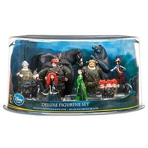 Disney Figurine Set - Brave Merida Deluxe Figurine Playset