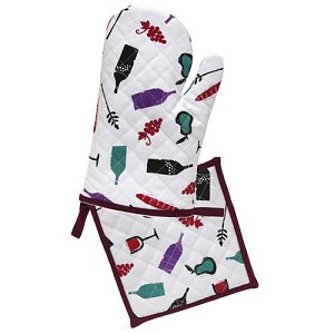 Disney Oven Mitt and Potholder - Food and Wine Festival - Sketch