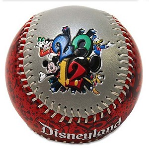 Disney Collectible Baseball - 2012 Official Logo DISNEYLAND