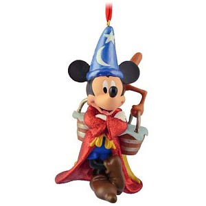 Disney Christmas Figurine Ornament - Sorcerer Mickey