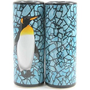 SeaWorld Tall Shooter Shot Glass - Mosaic Penguin
