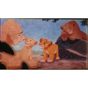 Disney Piece of Disney Movies Pin - The Lion King - Frame Lioness 61