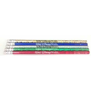 Disney Pencil - Foil Walt Disney World - Color Choice