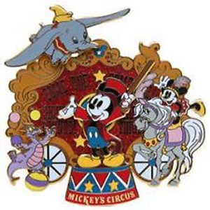 Disney Mickey's Circus Pin - Mickey Mouse Ring Master - Jumbo Pin