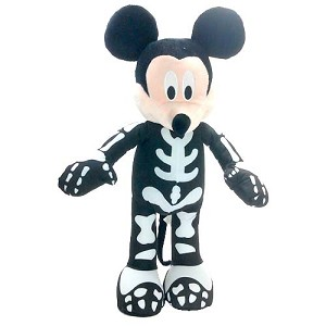 Disney Plush - Porch Greeter - Skeleton Mickey Mouse