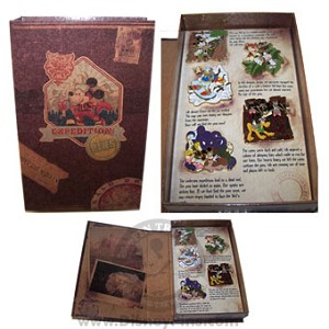 Disney Boxed Pin Set - Expedition: PINS - Travel Journal