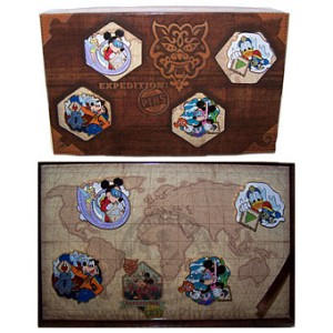 Disney Boxed Pin Set - Expedition: PINS - The Hand Over