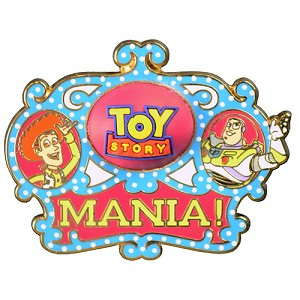 Disney Toy Story Midway Mania! Pin - Logo