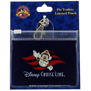 Disney Lanyard Pouch - Captain Mickey - Disney Cruise Line