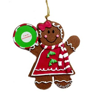 SeaWorld Christmas Ornament - Gingerbread Girl