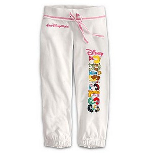 Disney Girl's Sweatpants - Disney Princess Walt Disney World