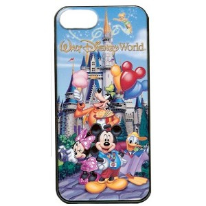 Disney iPhone 5S Case - Disney World Mickey Mouse and Friends