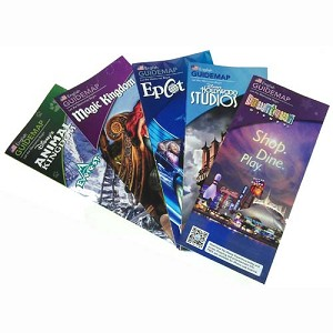 Walt Disney World Theme Park Guide Maps Selection
