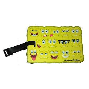 Universal Luggage Bag Tag - Spongebob Squarepants