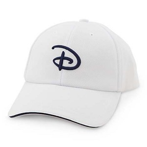Disney Hat - Baseball Cap - Disney Logo Sport Cap - White