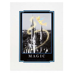 Disney Print - Quotations Series - Magic - Tinker Bell