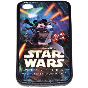 Disney iPhone 4/4s Case - 2013 Star Wars Weekends Logo Jedi Mickey LE