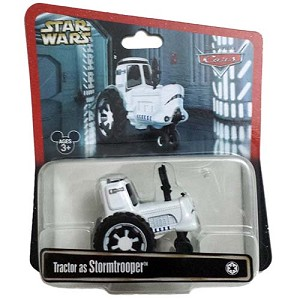 Disney Racers Car - CARS as Star Wars - Tractor as Stormtrooper