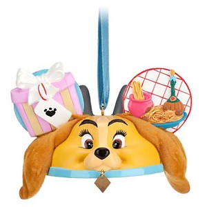 Disney Ear Hat Ornament - Lady and the Tramp