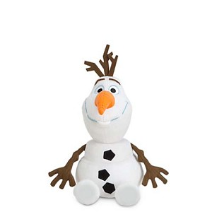"Disney Plush - Frozen - Olaf the Snowman - 12"" Disney World RARE"