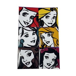 Disney Magnet - Set of Six Refrigerator Magnets - Princess