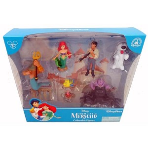 Disney Figurine Set - The Little Mermaid