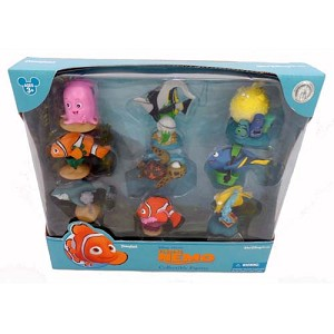 Disney Figurine Set - Disney Pixar Finding Nemo