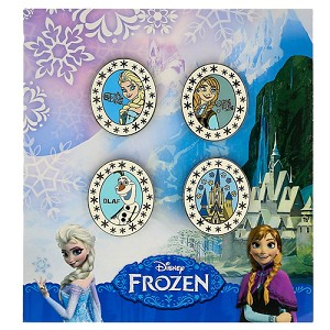 Disney 4 Pin Booster Set - Disney's Frozen Anna Elsa Olaf