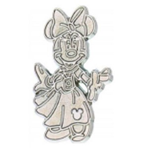 Disney Hidden Mickey Pin - 2013 B Series - Chaser - Minnie Mouse