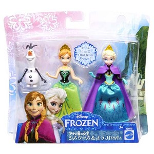 Disney Doll - Frozen - Anna, Elsa, and Olaf