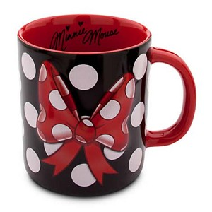 Disney Coffee Cup - Minnie Mouse Bow Signature