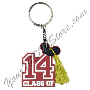 Disney Key Chain Ring - Class of 2014