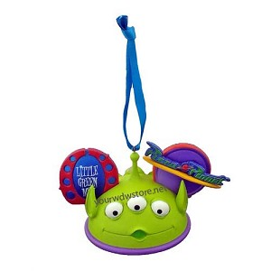 Disney Ear Hat Ornament - Toy Story - Alien