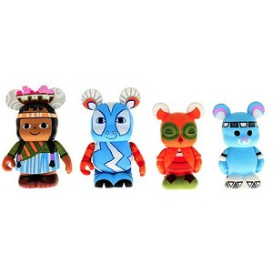 Disney vinylmation Set - Park 12 Contemporary Mosaic