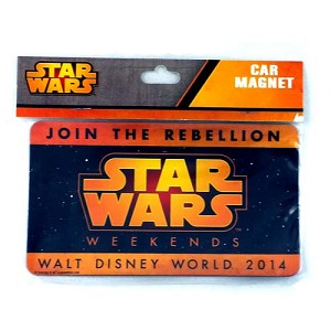 Disney Auto Magnet - Star Wars Weekends - Join the Rebellion