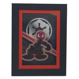 Disney Print - Star Wars Laser Cel - Darth Donald
