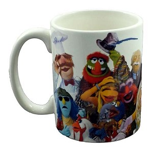 Disney Coffee Cup - The Muppets Cast